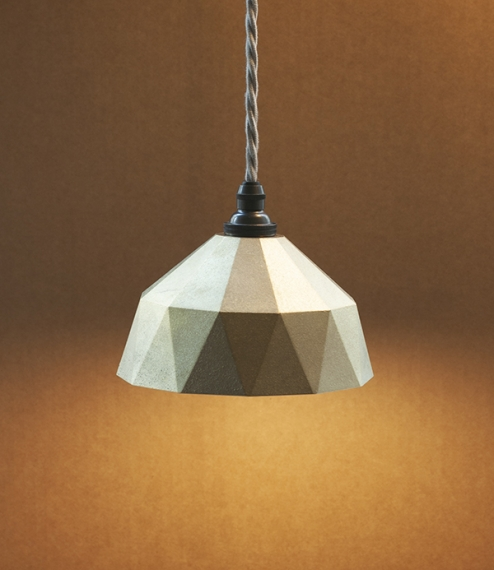 Ihada lamp Myojo (faceted), small