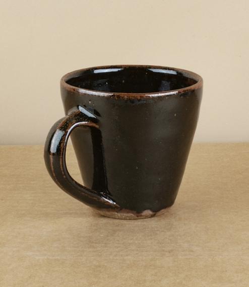 Flared mug, Jack Welbourne, black