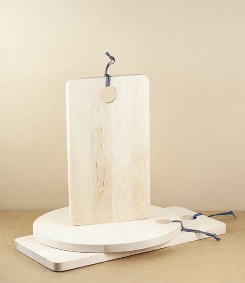 Swedish birch cutting and serving boards