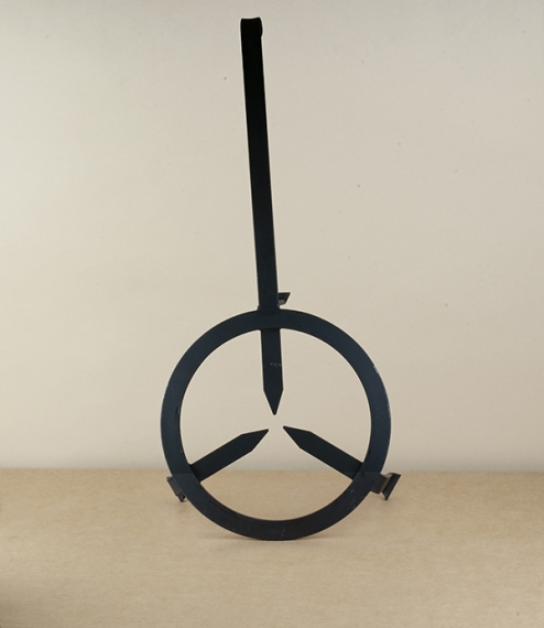 Hand forged campfire stand, 35cm