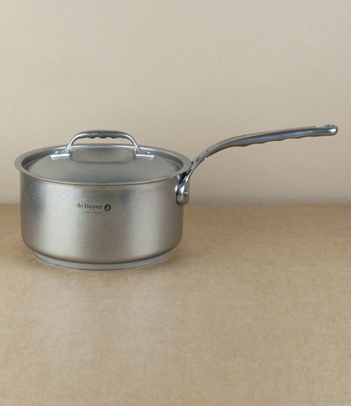 French stainless steel saucepan, 3.0l, 20cm