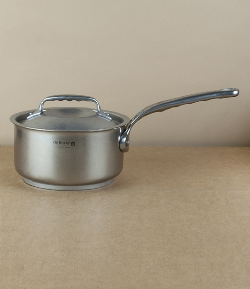 French stainless steel saucepan, 1.6l, 16cm