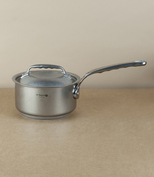 French stainless steel saucepan, 1.2l, 14cm