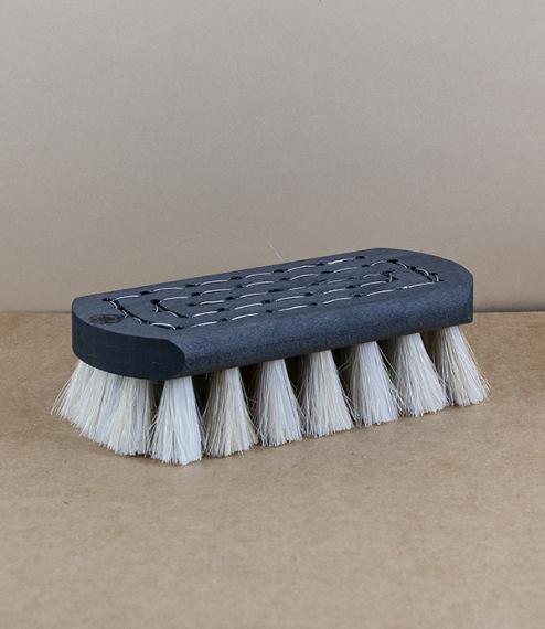 Finnish black or white bristled bath and sauna brushes