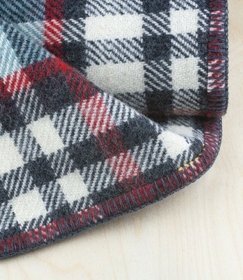 Llansteffan travel and picnic blanket