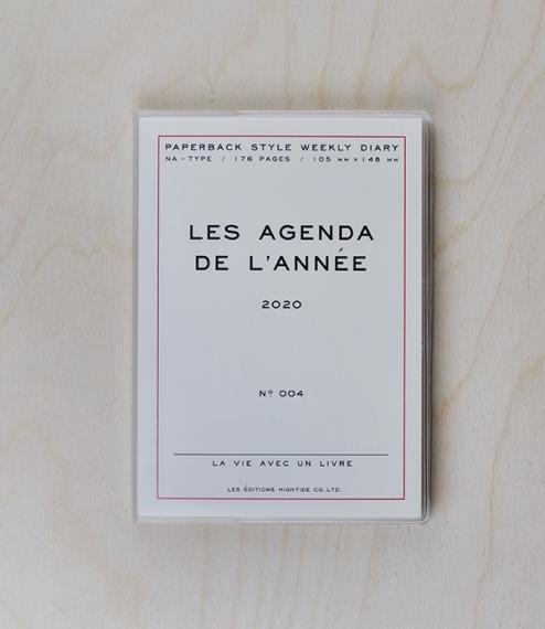 'Les Agenda de l'Année' 2020 Diary – white