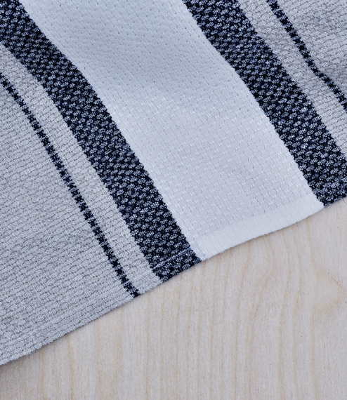 Irish linen huckaback weave tea towel