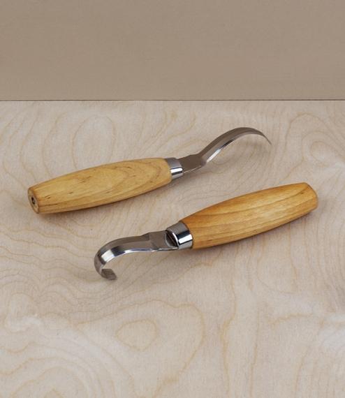 Mora 'Erik Frost' wood carving knives