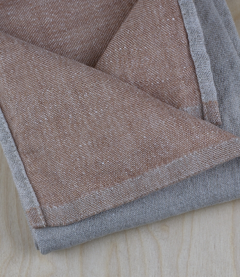 Finnish 100% washed linen kitchen towels