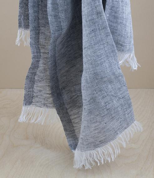 Finnish linen lightweight scarf