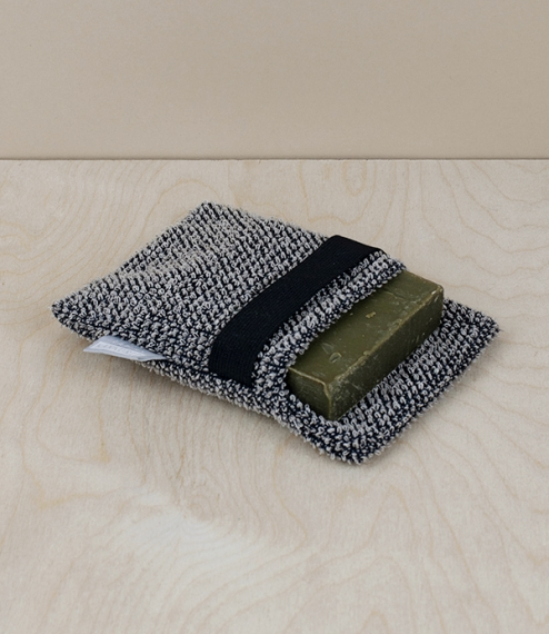 Finnish linen and tencel soap scrub