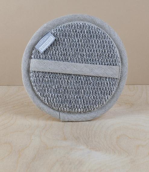 Finnish 100% linen cosmetic sponge