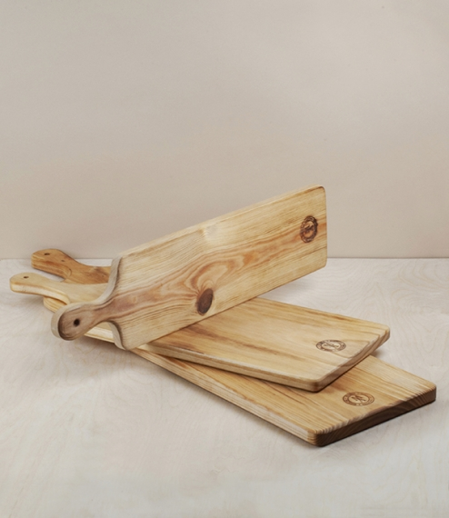 Portuguese rectangular chopping and serving boards