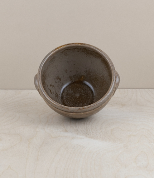Portuguese terracotta table or prep bowl