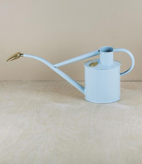 Duck-egg blue indoor watering can, 1 litre