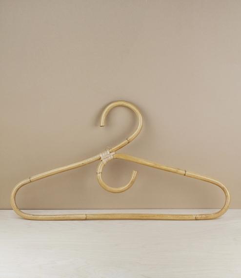 Finnish rattan coat hanger