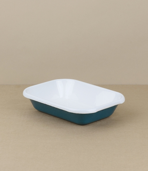 Turkish enamel small baking dishes