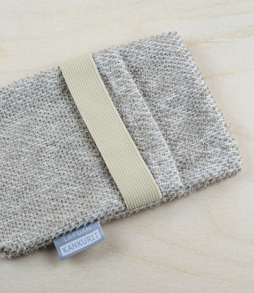 Finnish linen and tencel soap scrub