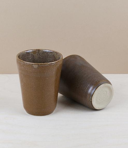 French stoneware goblet, 0.18l