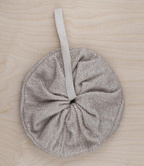 Finnish linen shower puffs