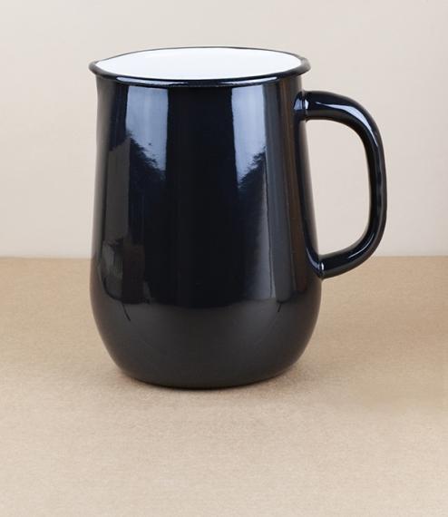 Ukrainian enamel jug water 2.5l