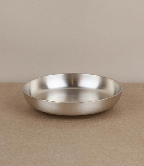 Korean bronze dish
