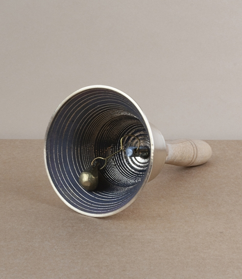 Korean bronze tofu seller's bell