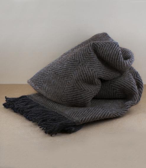 Scandinavian and New Zealand wool blanket