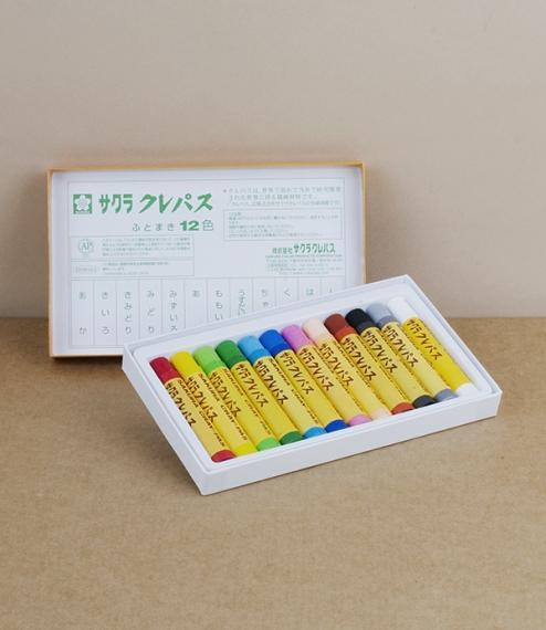 Sakura cray-pas, oil pastels