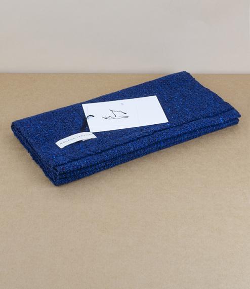 Tweed Emphasise Neck Warmer - Indigo