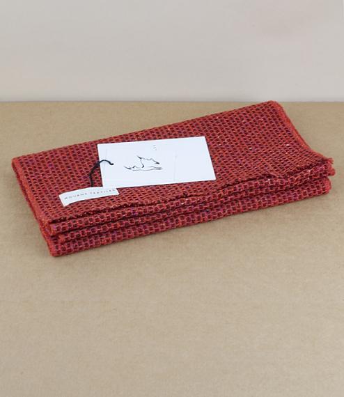 Tweed Emphasise Neck Warmer - Graphic Orange