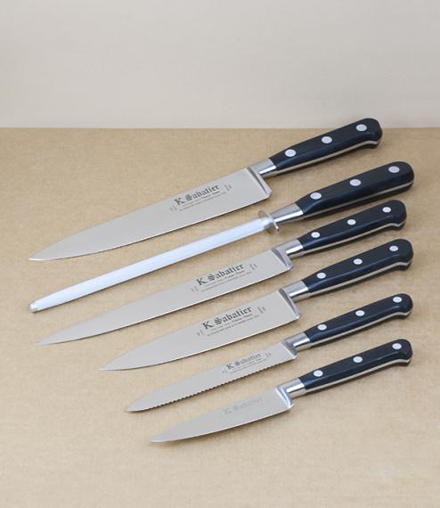 K Sabatier knife block set