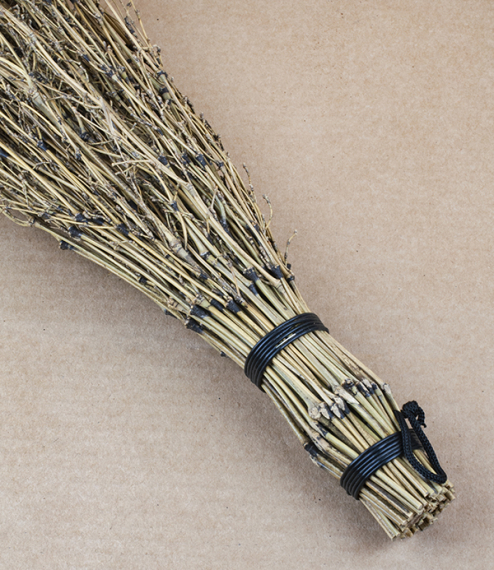 Japanese bamboo hand broom