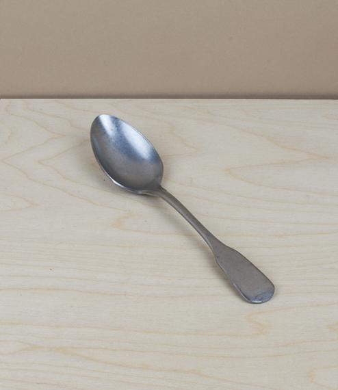Italian stainless steel dessert spoon, 188mm
