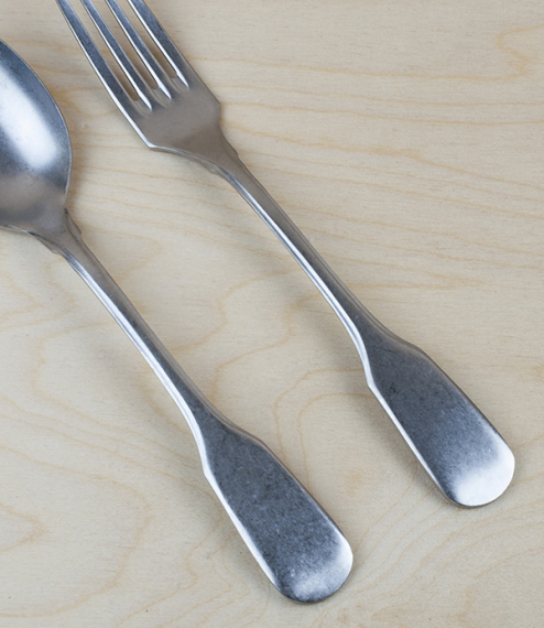 Italian stainless steel serving cutlery
