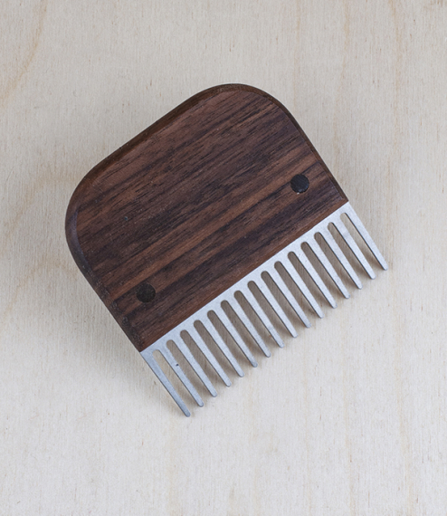 Swedish beard and moustache comb