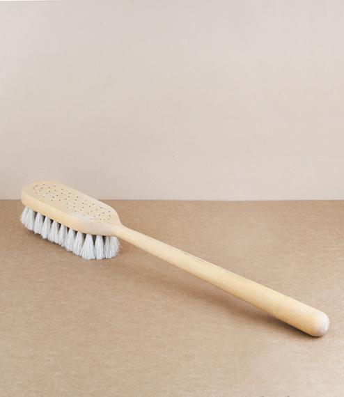Swedish body brush, for dry use