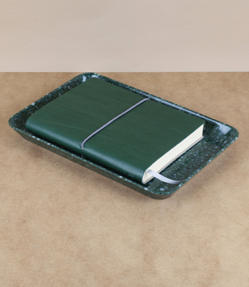 Melamine desk trays