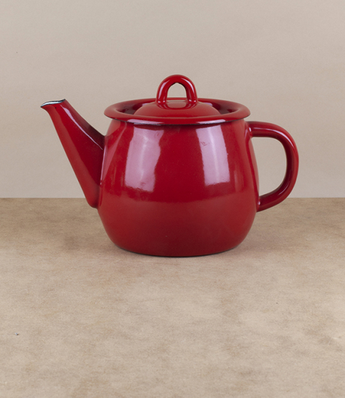 Ukrainian enamel teapots