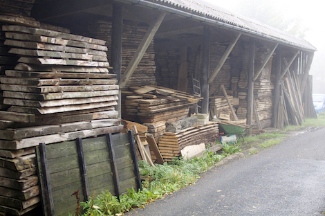 Just one of the timber stores.