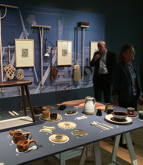 Arts and Crafts show opening Compton Verney