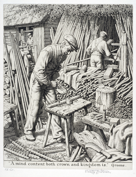 'The Rake Makers', Stanley Anderson, 1948