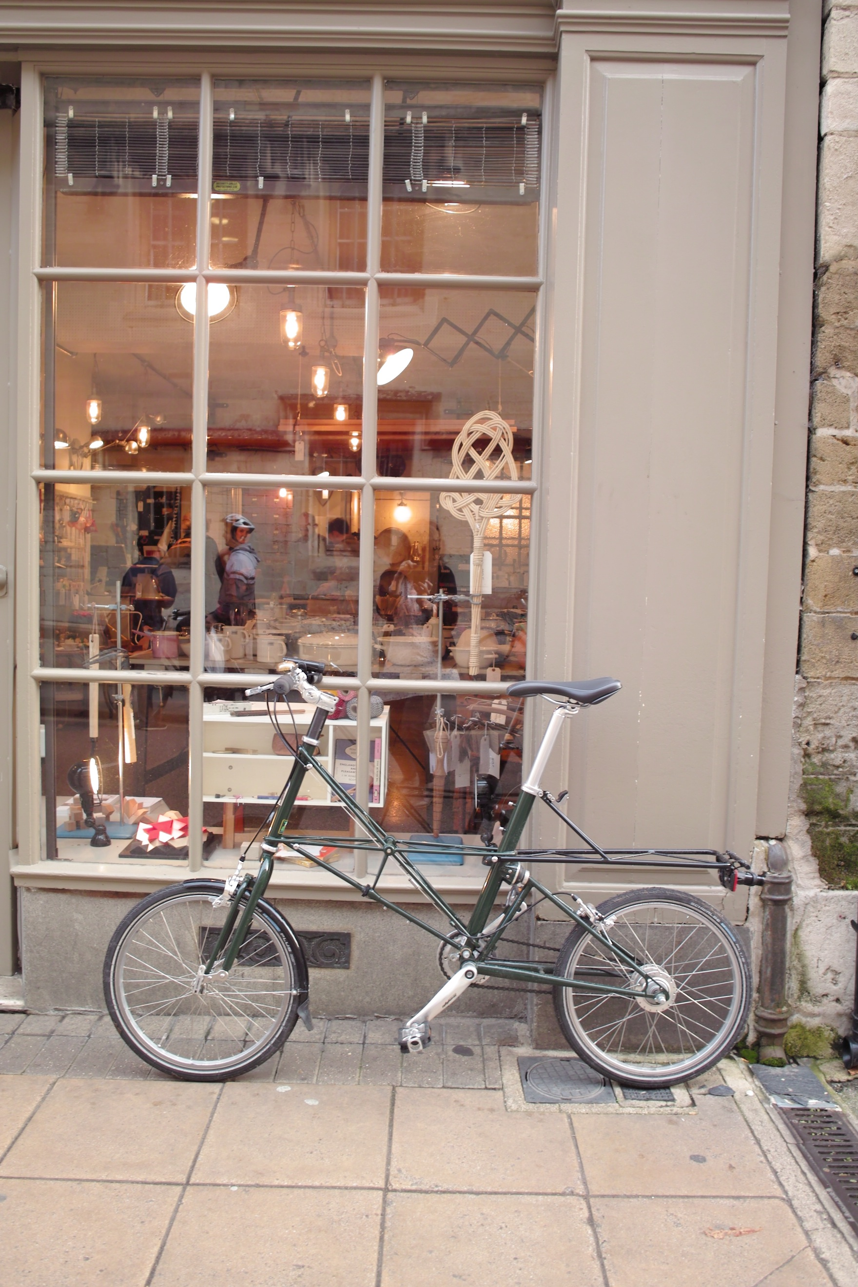 OoU bike and the shop