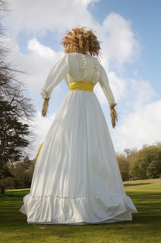 Kern Baby by Faye Claridge on the grounds of Compton Verney.