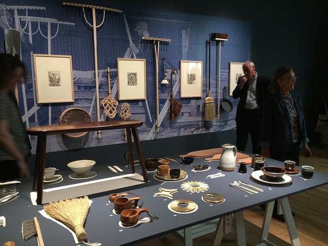 Objects of Use installation at Compton Verney; The Arts and Crafts House - Then and Now