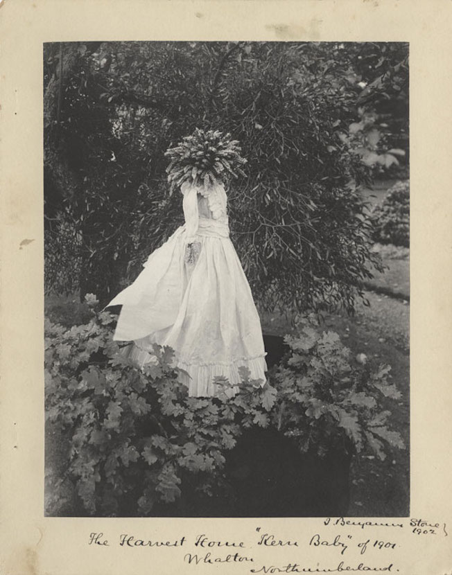 Kern Baby or Harvest Queen, photographed by Sir Benjamin Stone, 1901