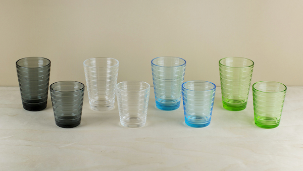 Designed in 1932 when the firm of Karhula (which later merged with iittala) held a competition for a new generation of affordable pressed glass. Whate..