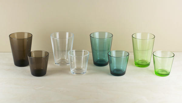 Designed by Kaj Franck in 1958 Kartio glassware embodies simplicity itself, and is still produced today in a range of complementary and more or less m..